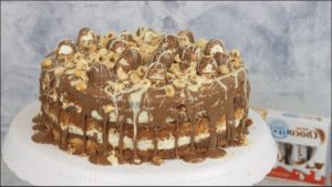 Kinder Schoko Bon Torte Ohne Backen