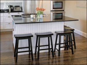 Portable Kitchen Island With Eating Bar