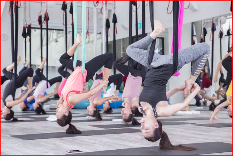 Aerial Fitness Classes Near Me