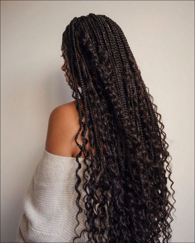 Knotless Goddess Box Braids