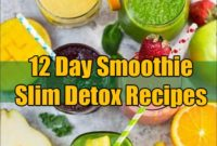 12 Day Smoothie Slim Detox Recipes