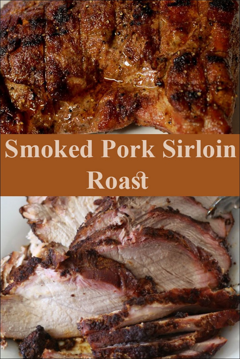 Smoked Pork Sirloin Roast