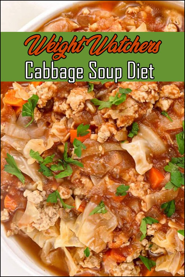 Weight Watchers Cabbage Soup Diet