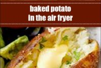 Baked Potato In The Air Fryer