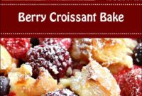 Berry Croissant Bake